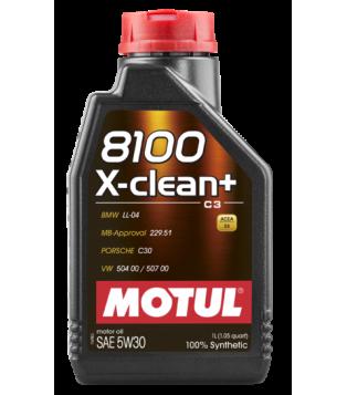 Huile moteur 8100 X-CLEAN+...