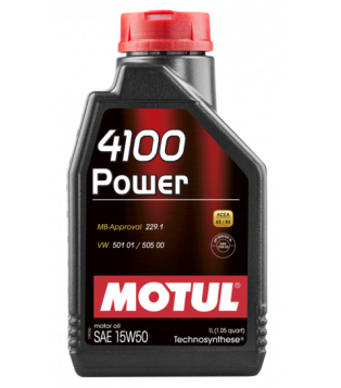 Huile moteur 4100 POWER 15W50