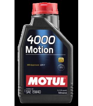 Huile moteur 4000 MOTION 15W40