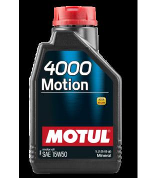 Huile moteur 4000 MOTION 15W50