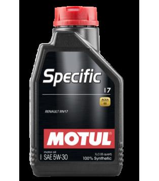 Huile moteur SPECIFIC 17 5W30
