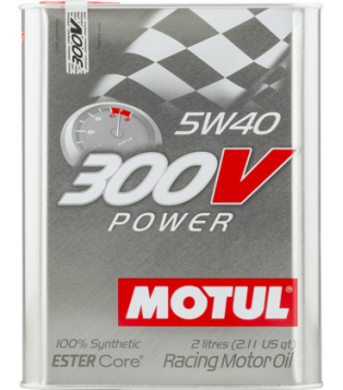 Huile 300V POWER 5W40