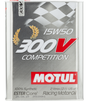 Huile 300V COMPETITION 15W50