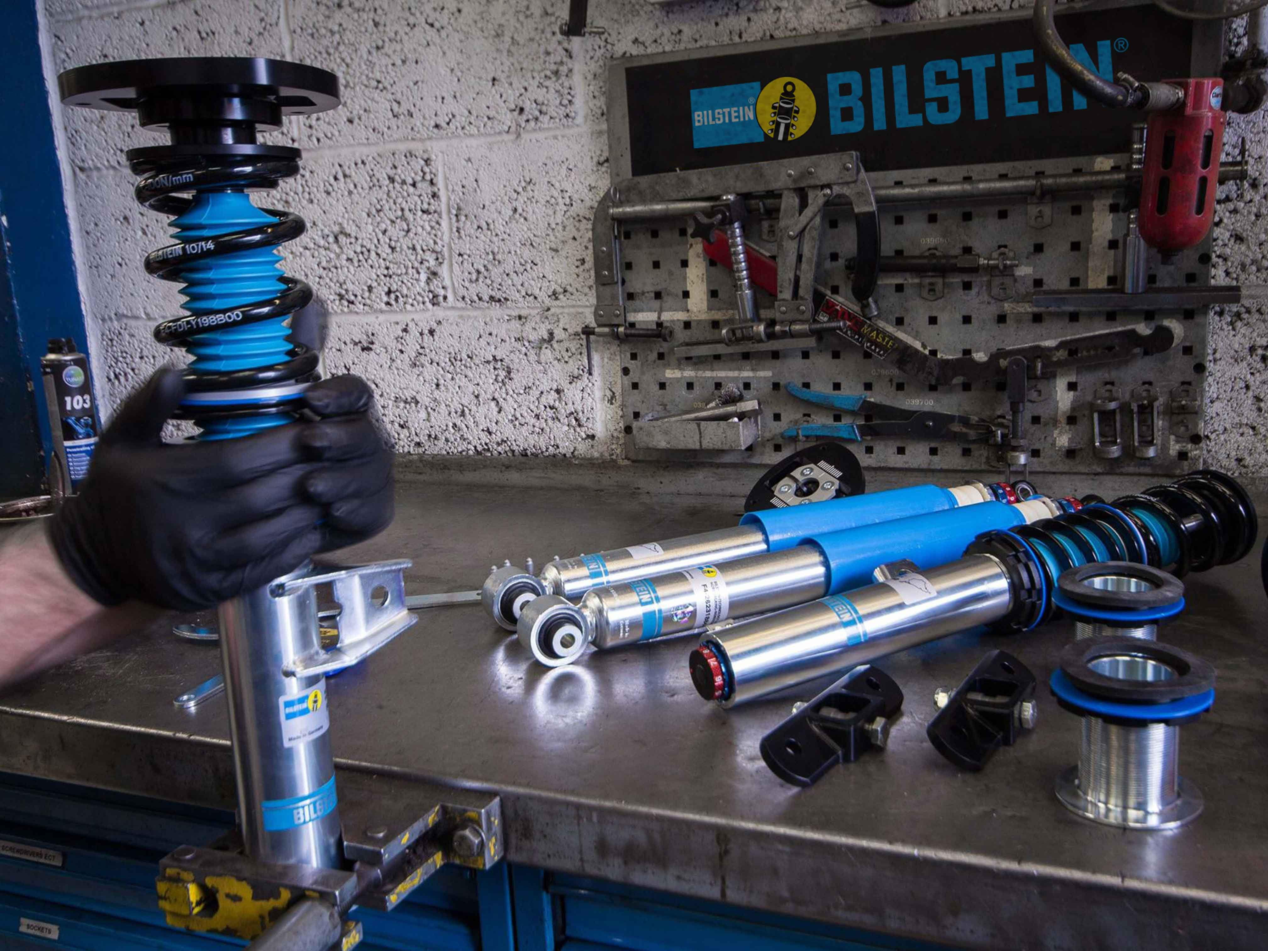 Eurofac : un laboratoire (Bilstein Technical Center)