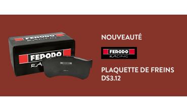 Nouveauté Ferodo Racing : Plaquettes Racing DS3.12
