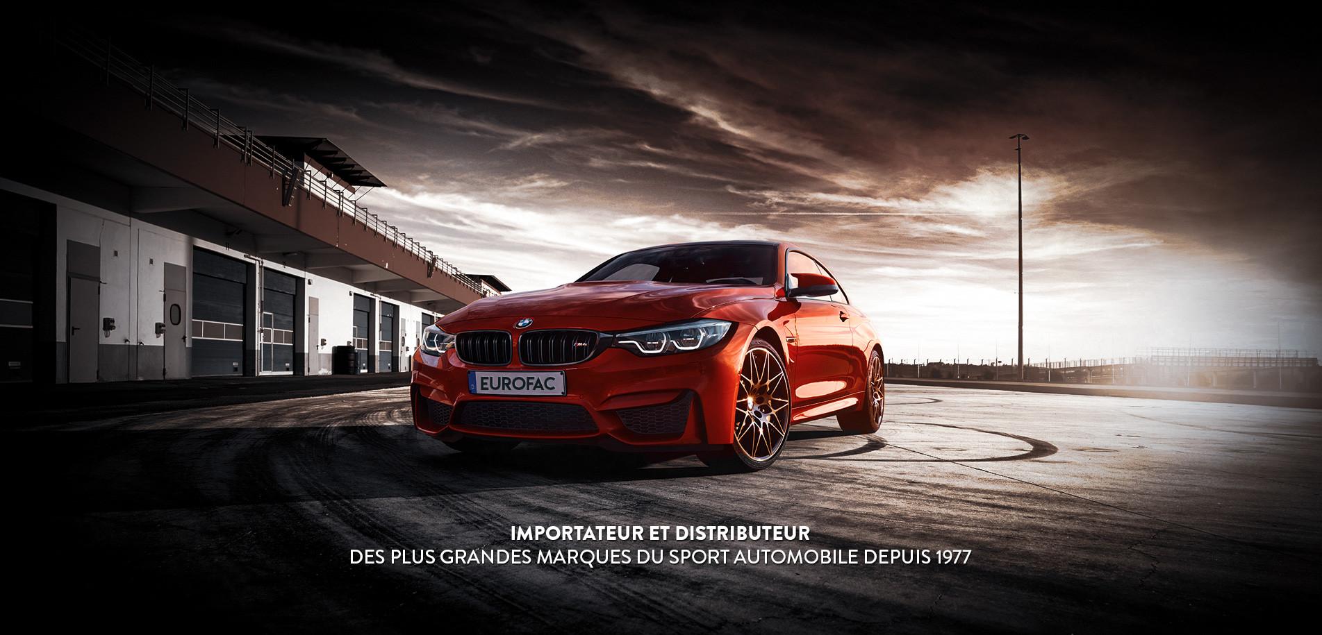 Eurofac : Importateur et distributeur des plus grandes marques du sport automobile depuis 1977